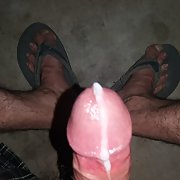 Showing Off My Big Hairy Erect Cock