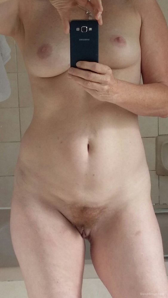 Sexy wife in lingerie showing her body