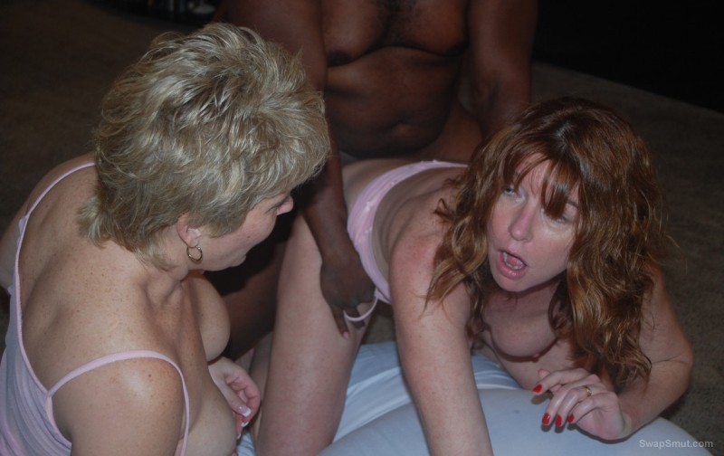 Mature wife interracial