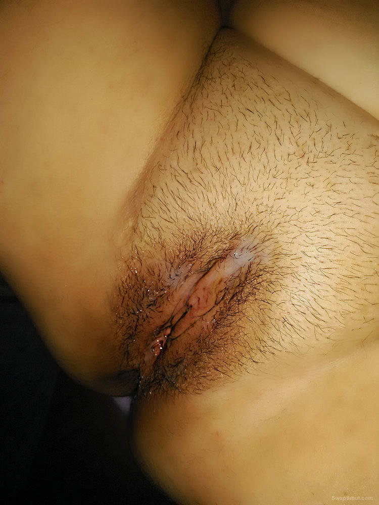 Photos of my cum soaked pussy and ass