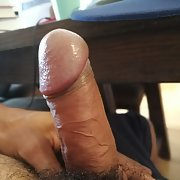 Self pics of my hard on hairy and uncut