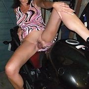 Jayne on my bike nude tell us if you want to see more of her