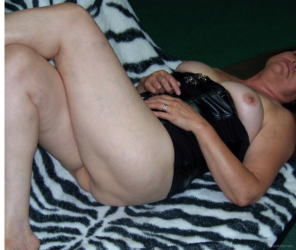 Wife posing for your pleasure and comments tell her what you think