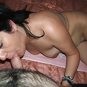 Mature brunette very addicted to cock fucking, fucking you like this