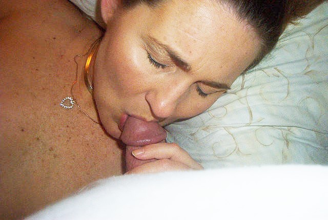 My sexy wife sucking my cock. I love the way she sucks cock