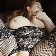 Just fucked by hubby he creampied me