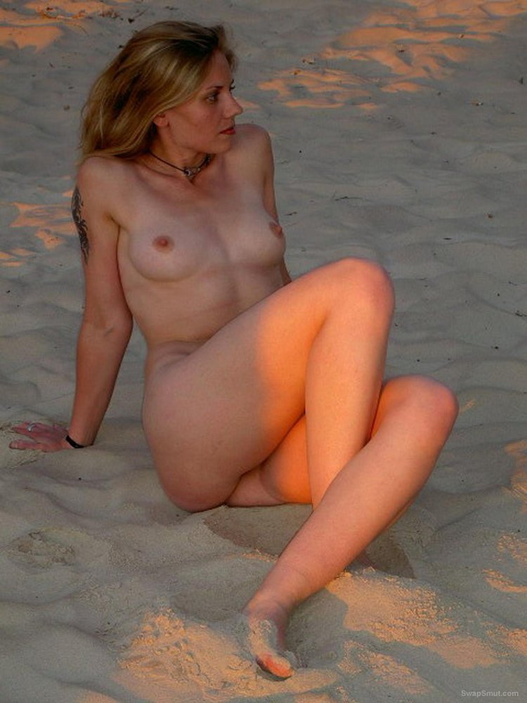 Naughty wife exposing herself and threesome at hotel