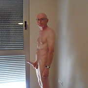 Not right Clips of hard erect naked cock