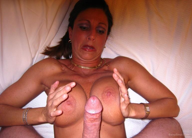 Shown mature bitch and sucks cock until you run out of milk