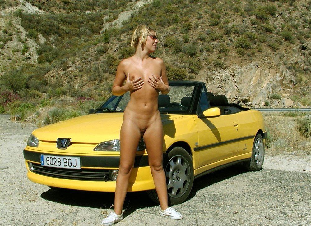 Naked on the Car