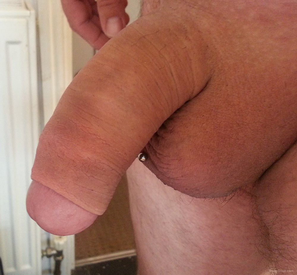 Just some pictures of my cock and piercing