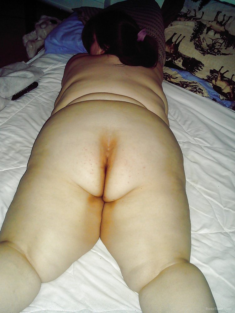 My always horny shared slut bbw wife showing off her fat body