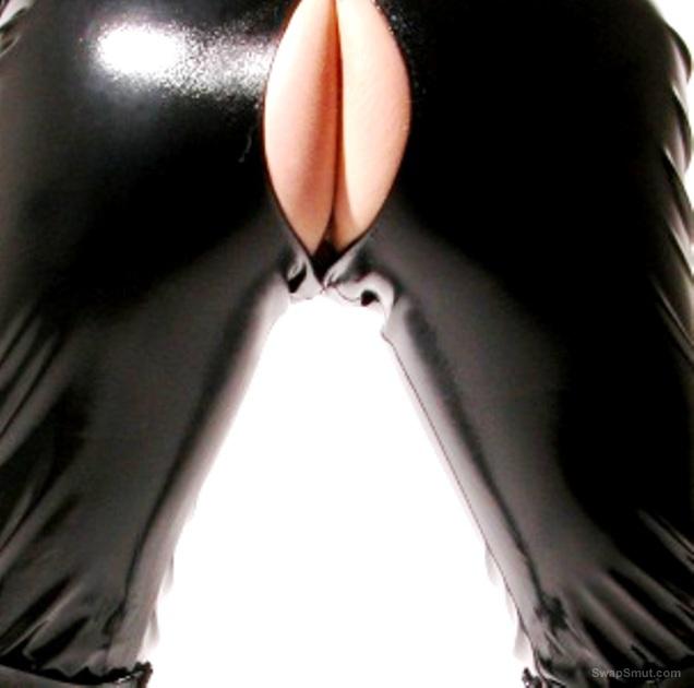 shiny rubber hood fetish
