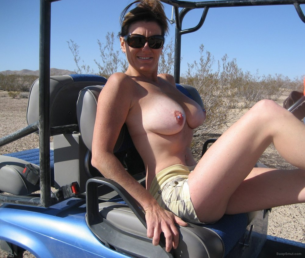 MILF playing out in the dirt, who wants to get dirty with me
