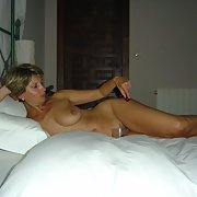 My MENTOR STELLA posing nude and topless hot and horny bitch