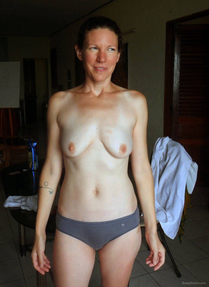 43 year old Shelly- blue grey panties