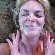MILF-tastic If you like older women sperm soaked amateur facial