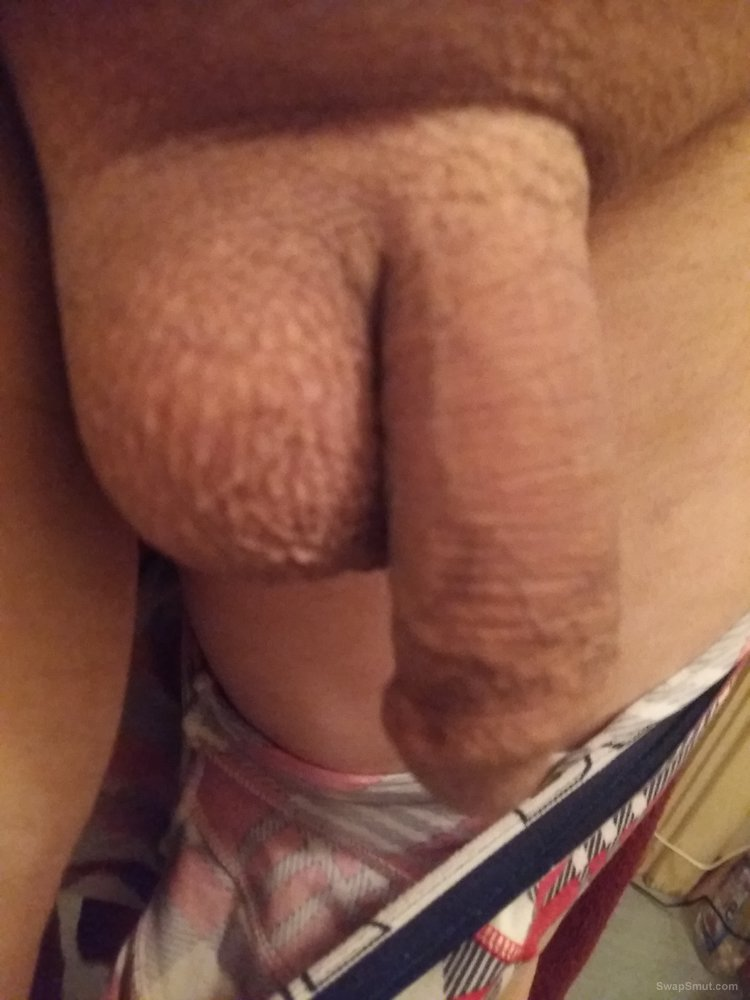 My cock shaved sometimes with a hard on and sometimes normal