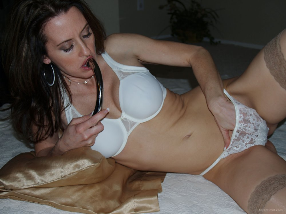 Soaking wet mom multiple orgasm using favorite sex toys