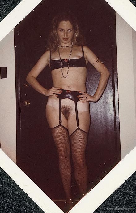 Young wifey again, some early Polaroids from years past
