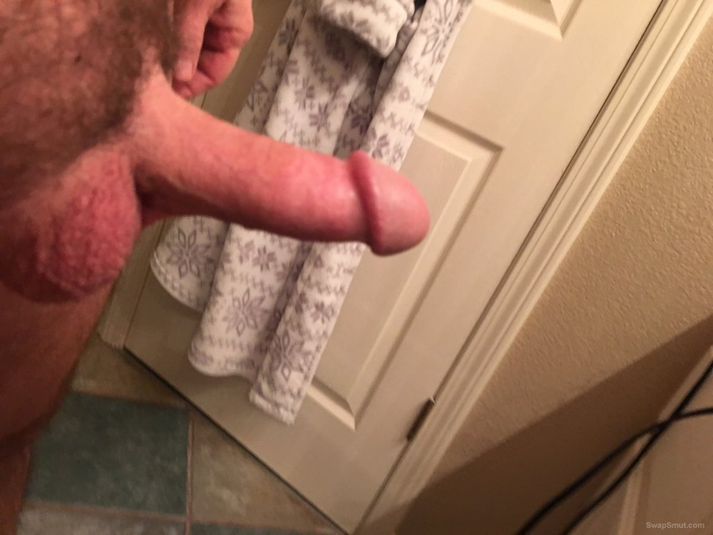 Shots of my cock and balls, Hard and soft