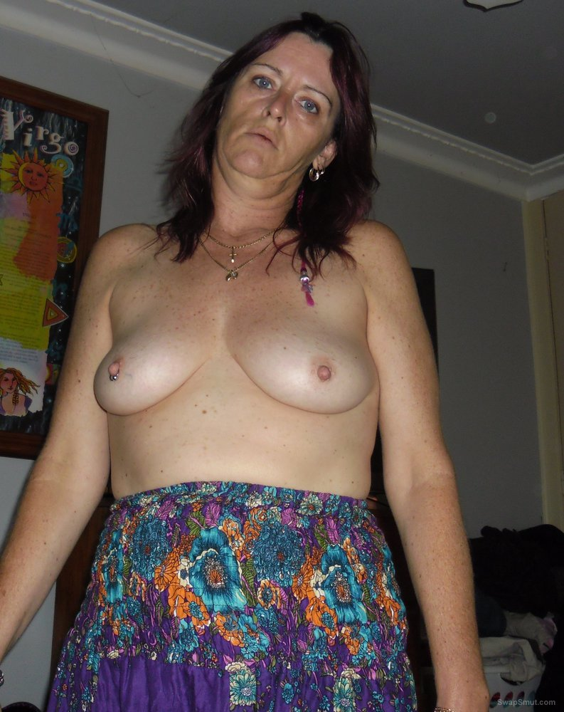 My Aussie wife showing her boobs through the years