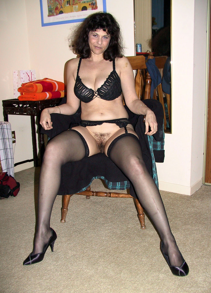 Black Garter & Stockings