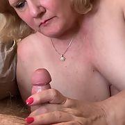 Texas Granny Blowjob For My Husband