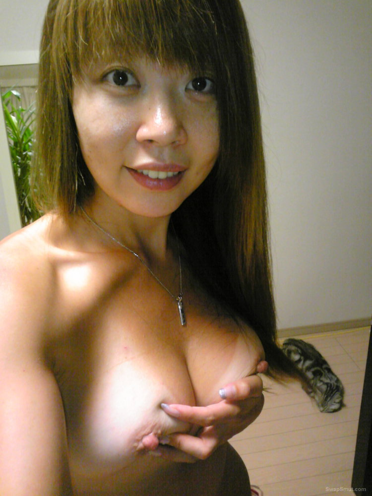 Do you Love my tight Japanese Ass and big puffy nipples