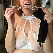 Naughty wife likes her toys Please comment and email us