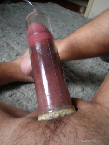 Pumped Cock