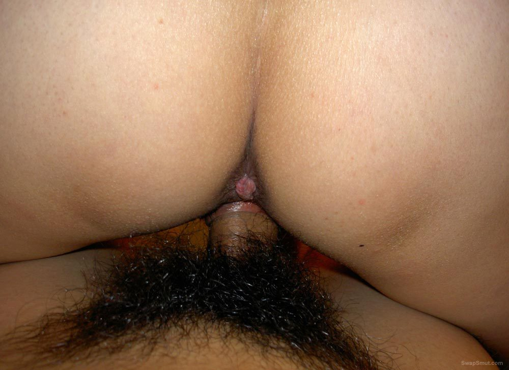 Asian Sue having her hairy pussy screwed