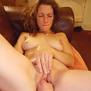 Cum loving whore pussy and chest creamed with jizz