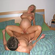 Pregnant sex wife