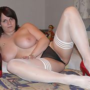 Lovely busty chubby amateur exposes her assets - misc part