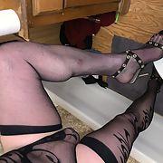 Stockings legs Feminized Male Cuck in KY