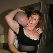 Mrs having sex with another man cumming over her face