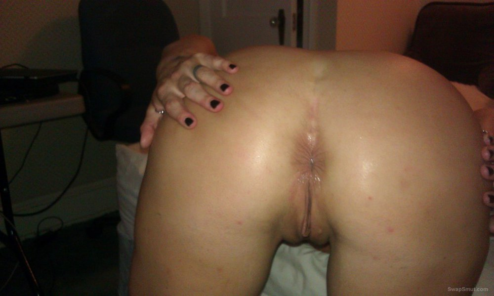 Chubby wife naked showing tits and ass and while being fucked