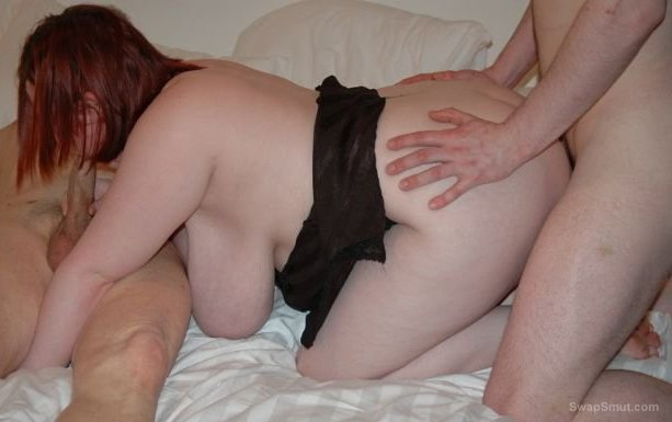 Just me being a naughty slut again enjoying a threesome all horny