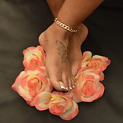 My wife's pretty toes, they're looking good to me