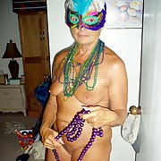 It's Mardi Gras time, get naked with me and get some beads