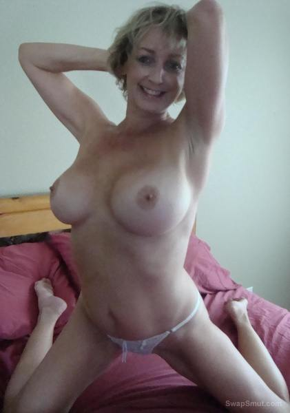 Misty Hot Milf with Natural Boobs and a Squirter