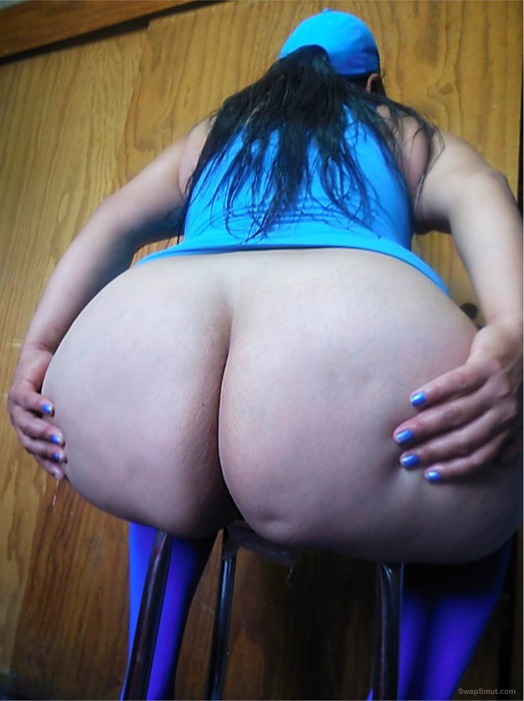 A Mexican lady of monumental and huge ass 03