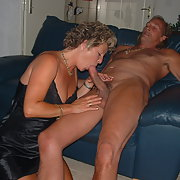 A mature but sexy swinger wife having sum fun with friends