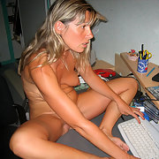 Sylvie Does Some Internet Chatting and This Makes Her Very Horny