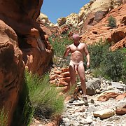 Nude Hiking at Red Rock Canyon and Lake Mead