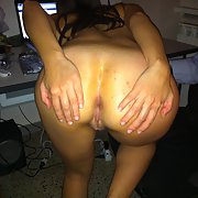my girl shiw her ass and suck me