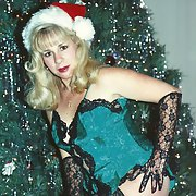 More of me Christmas pictures taken at my house by my black owner
