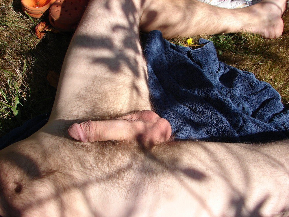 Playing with my cock outside for you having wank in public