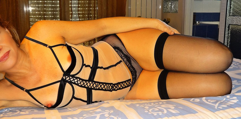 Relax with my wife Anna wearing hot lingerie